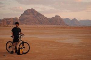 Pedal back in time in the deserts of Jordan (photo credit: Exodus Travel)