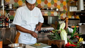 Four Seasons Bali is the only resort on the island to feature its own stand-alone cooking school.