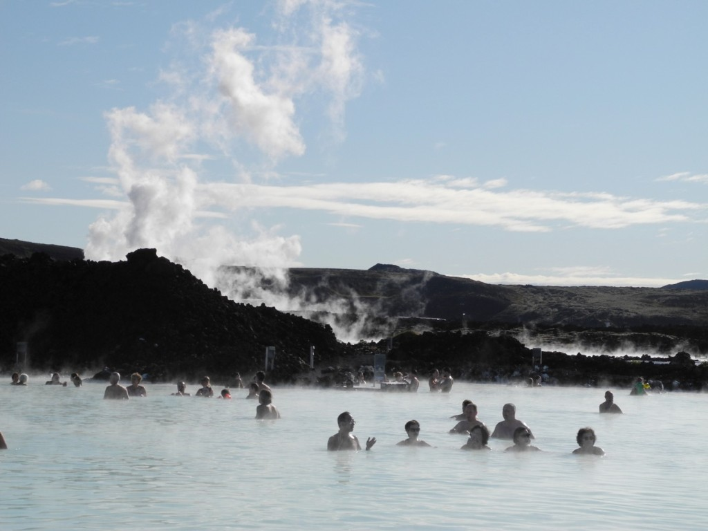 "The Blue Lagoon in Grindavik, Iceland won a Wellness Travel Award as ""Best for Mineral or Hot Springs""© 2014 Karen Rubin/news-photos-features.com"
