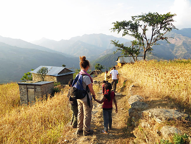 "Ace the Himalaya is pioneering a 13-day ""Home Stay Trek"" that brings visitors into homes in remote areas of Nepal's Gorkha region where their hosts are often friends and families of Sherpas."