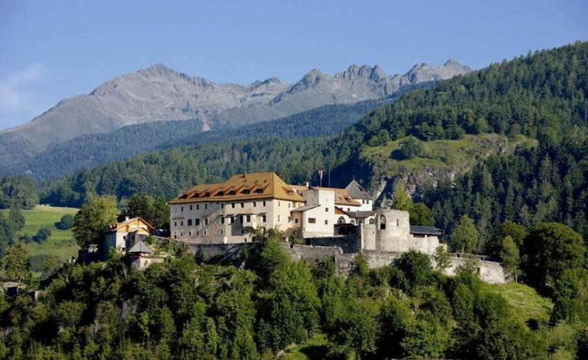 Castle Hotel Sonnenburg, in St. Lorenzen, Valley Pustertal, Italy was awarded Historic Hotels of Europe's Best Castle Historic Hotel 2016.