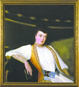 Alva Vanderbilt Belmont, seen in a portrait in Marble Hall, worked to pass the 19th Amendment. (credit: The Preservation Society of Newport County)