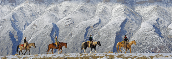Guest ranches offer an array of activities in winter.